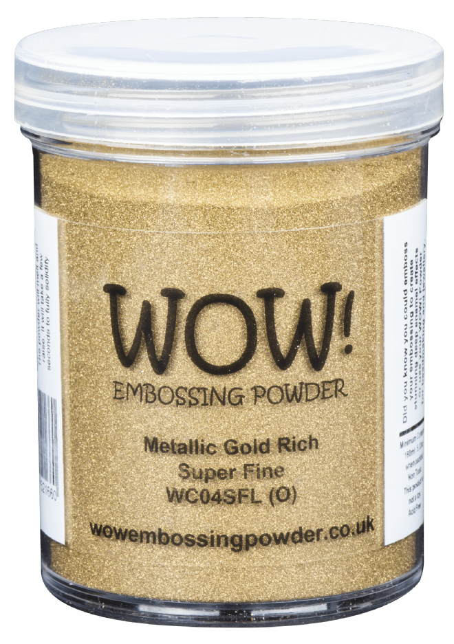 WC04 Metallic Gold Rich (Large Jar)